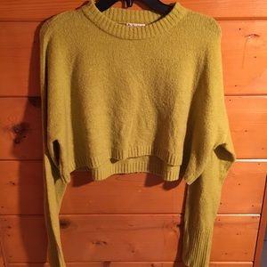 For love and lemons - lemon drop knit crop top